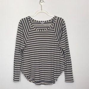 SALE ☆ Splendid Striped Dolman Long Sleeve Top SM